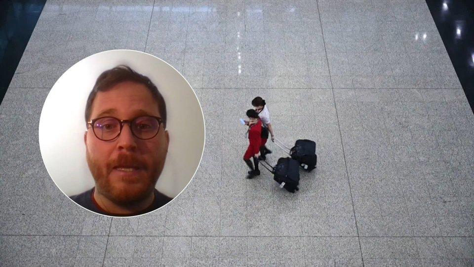 Daniele Antonioli in collegamento skype