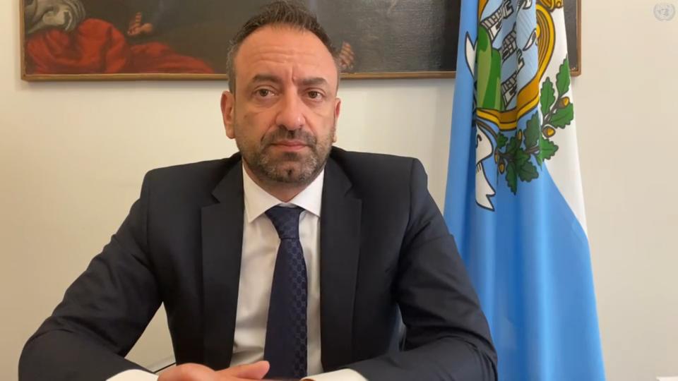 Il Segretario Luca Beccari nel suo videomessaggio