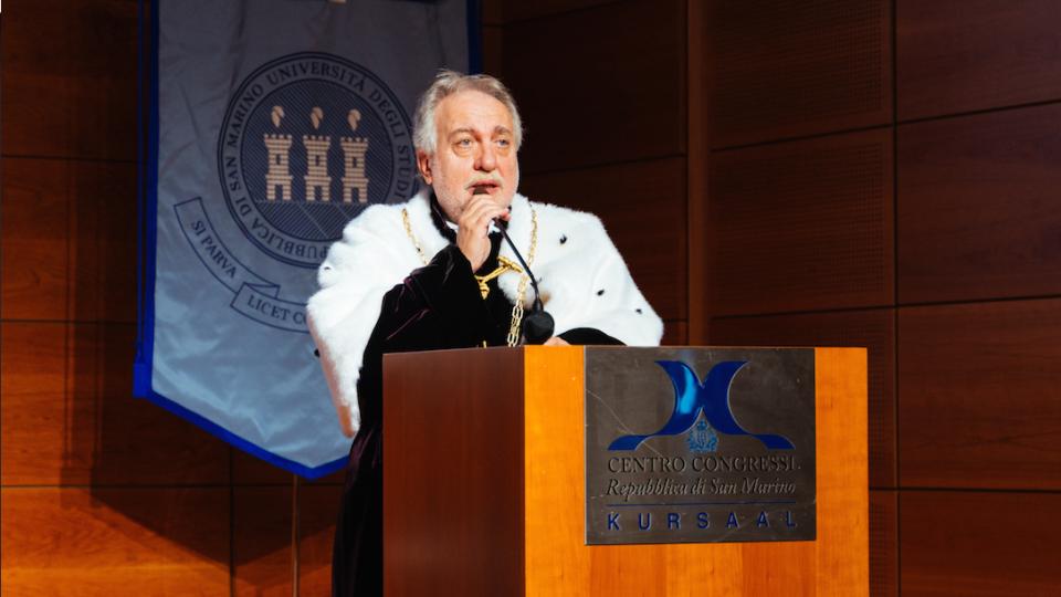 """Terzo mandato per il Rettore dell'Università di San Marino: """"Un risultato che sottolinea la bontà del lavoro svolto da tutto l'Ateneo"""""""