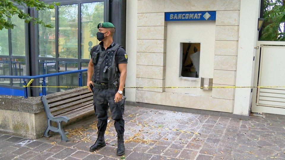 Esplosione bancomat di Faetano: torna operativo lo sportello ATM