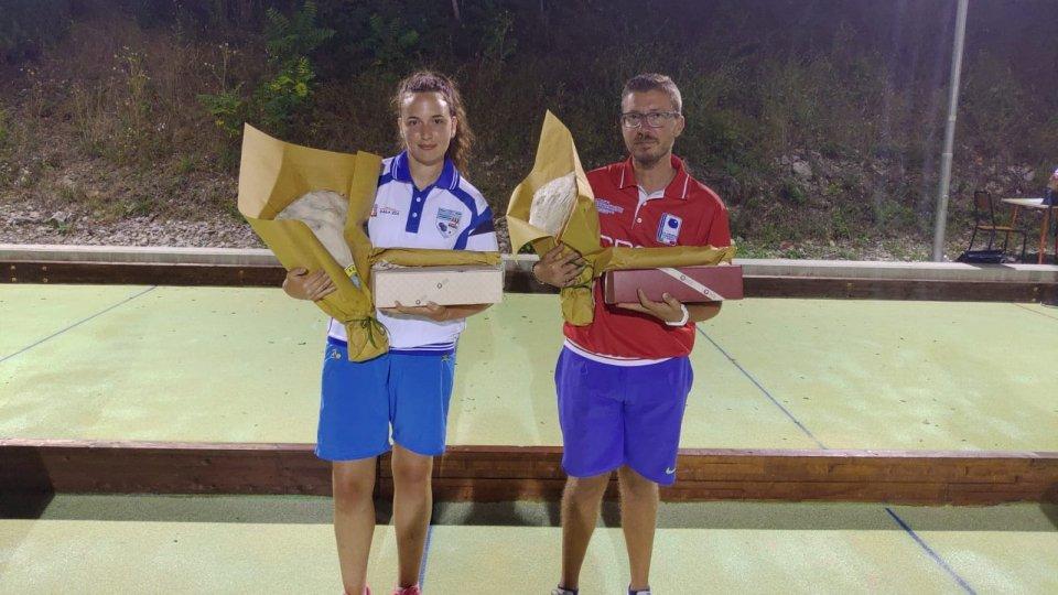 """Paoletti e Miloro vincono la parata ad invito.  Miloro concede il bis nel trofeo """"Dal Mare al Monte Titano"""""""