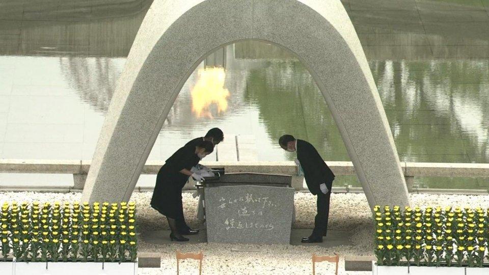 Il Giappone commemora i 75 anni da Hiroshima