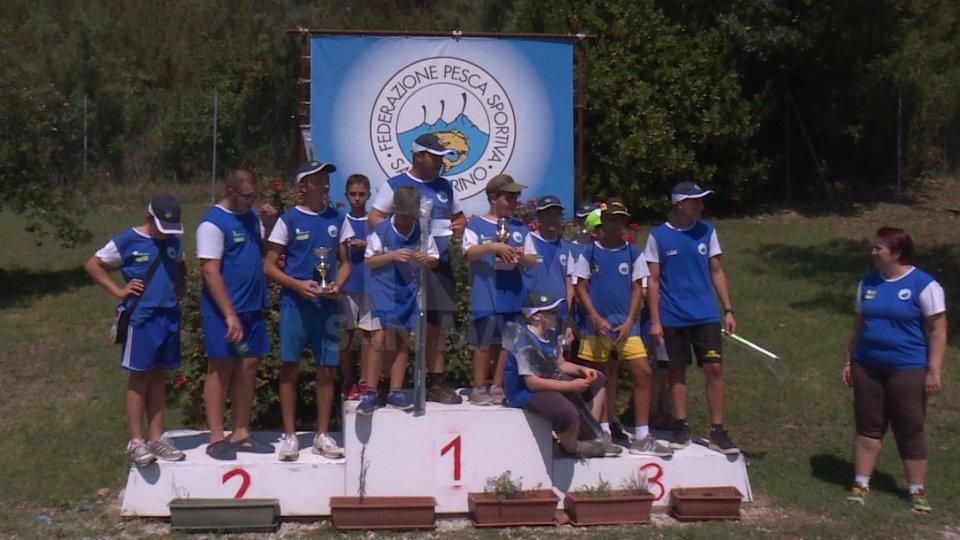 Pesca, assegnati i titoli sammarinesi U18 e U12