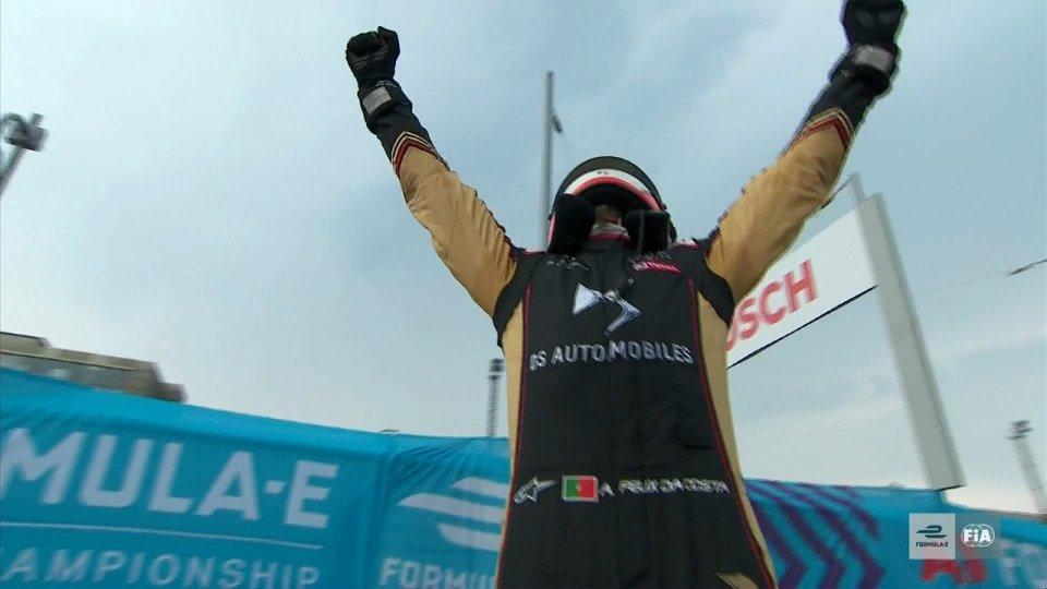 Formula E, gara 9 incorona Da Costa campione del mondo