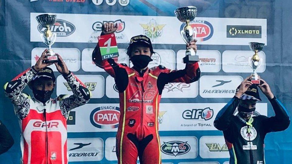 Minimoto: Gabriel Tesini vince ancora