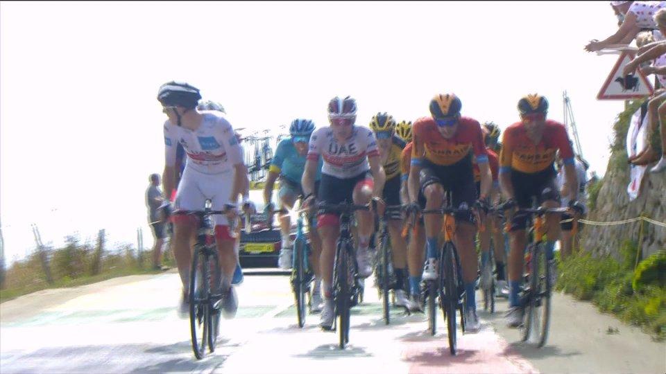 Miguel Angel Lopez fa l'impresa al Tour