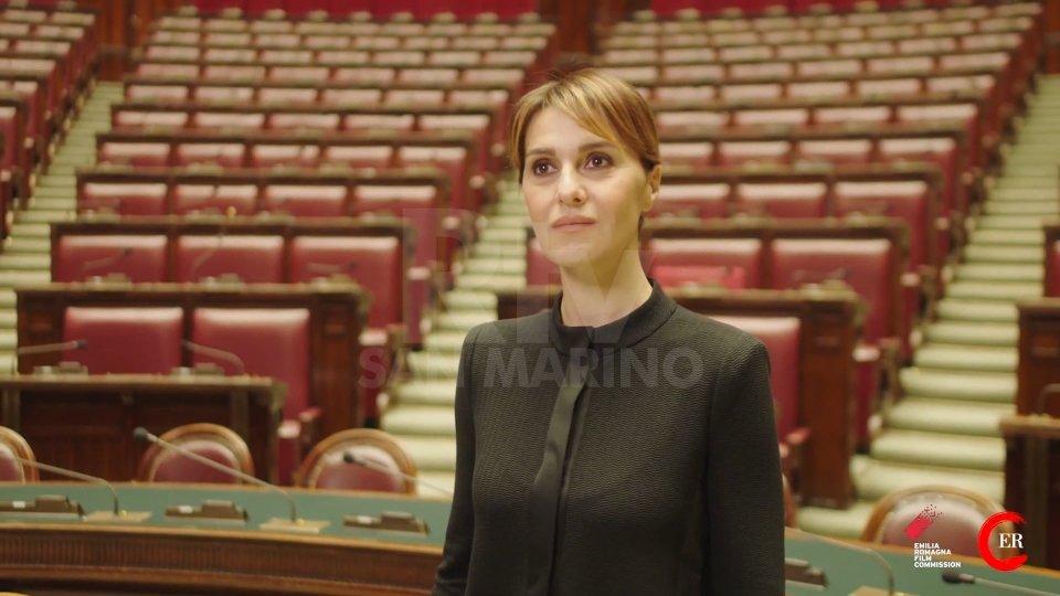 Paola Cortellesi nel ruolo di Nilde Iotti