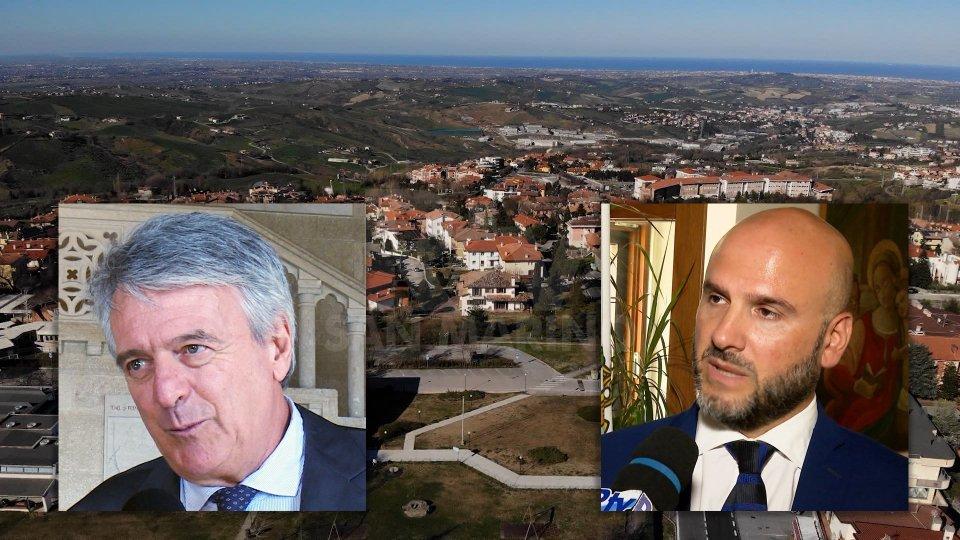 Nelle foto Giuseppe Morganti e il Segretario Stefano Canti