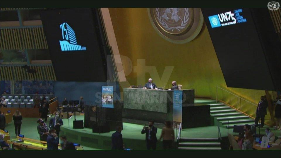 75 anni dell'Onu: dalla Reggenza parole di unità e pace, in Assemblea clima teso e scontri a distanza