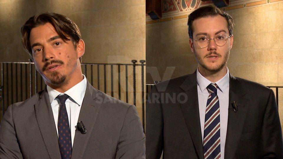 Matteo Ciacci e Alberto Giordano Spagni Reffi