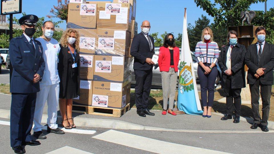 Segreteria Esteri: donazione di materiale sanitario da parte degli Stati Uniti