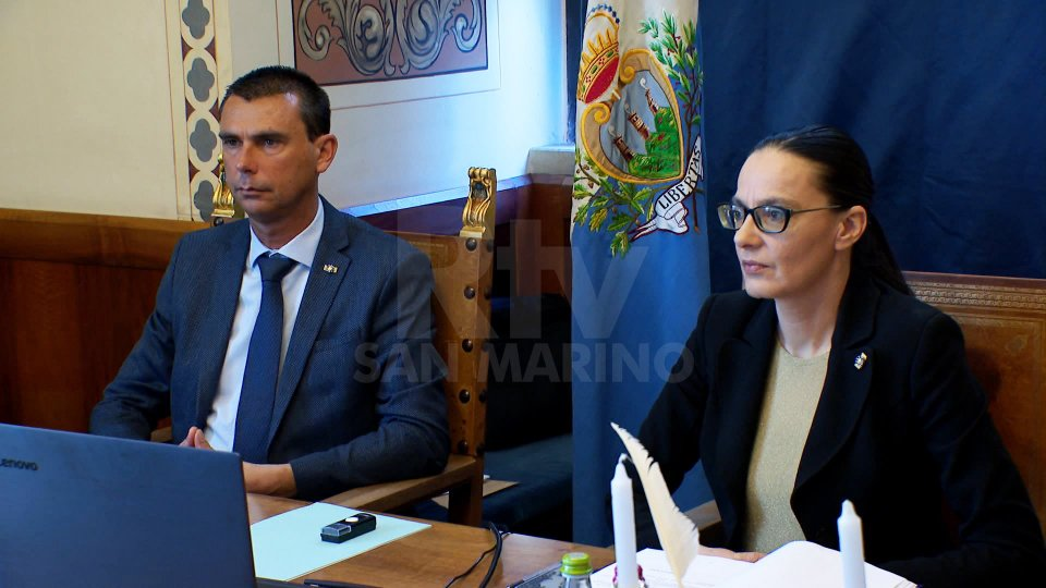 Alessandro Mancini e Grazia Zafferani