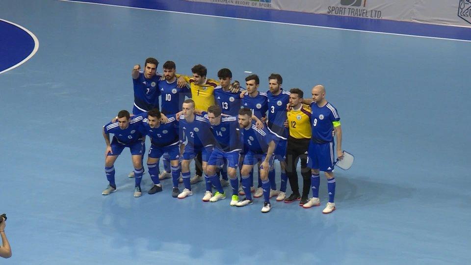 La nazionale sammarinese di futsal