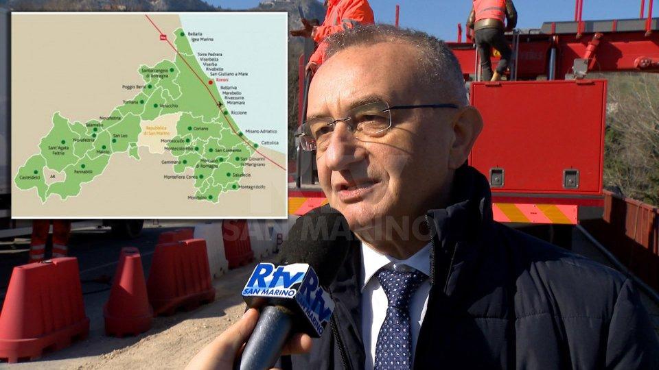 Il presidente Riziero Santi