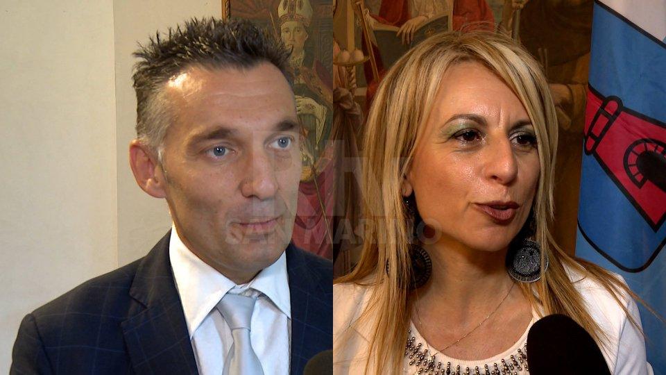 Leonardo Bindi e Domenica Spinelli