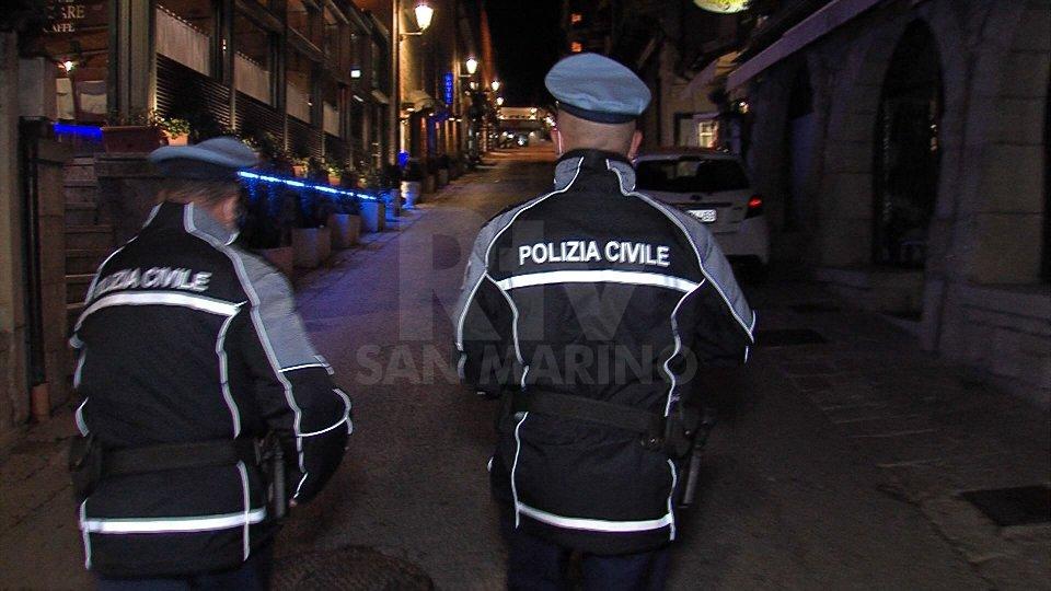 San Marino: Controlli, Polizia Civile multa 2 attività e 4 persone nel fine settimana