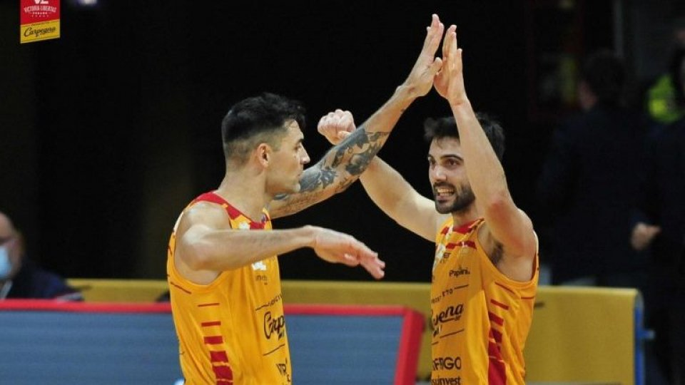 Si gioca regolarmente Carpegna Prosciutto Pesaro - Reggio Emilia