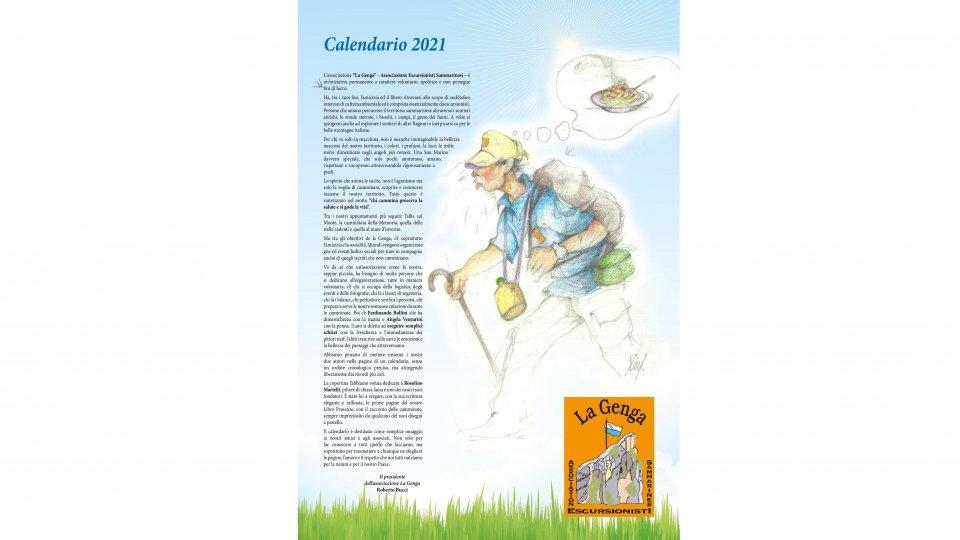 La Genga dalla Reggenza per presentare il suo calendario