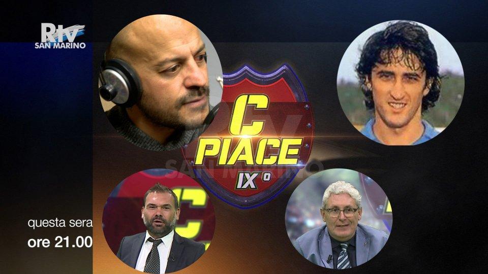 Adrian Ricchiuti e Fernando De Napoli a Cpiace