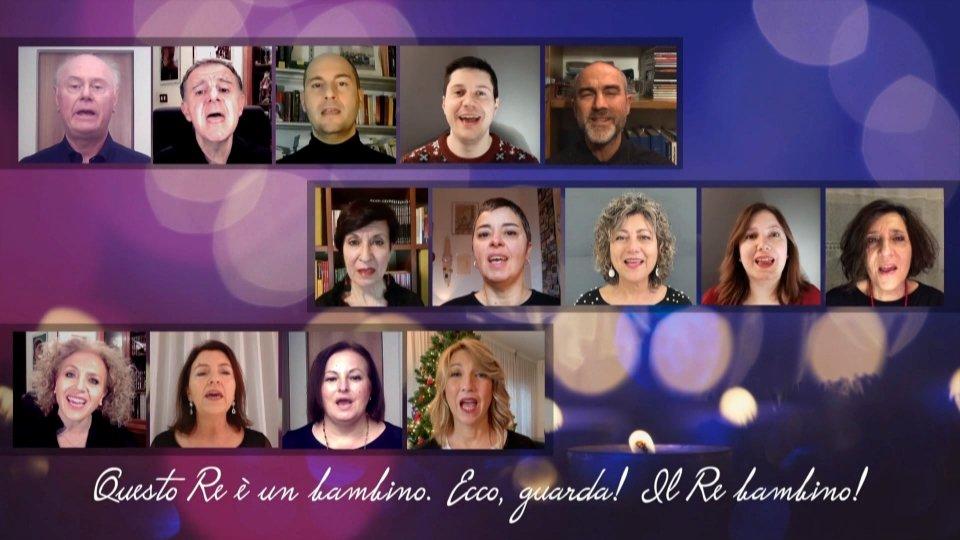"""Presentazione della nuova produzione della Corale San Marino: """"A baby is the King"""""""
