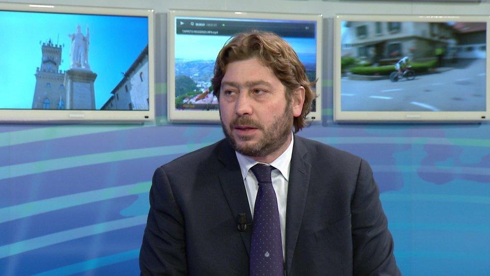 L'intervento del Segretario Federico Pedini Amati