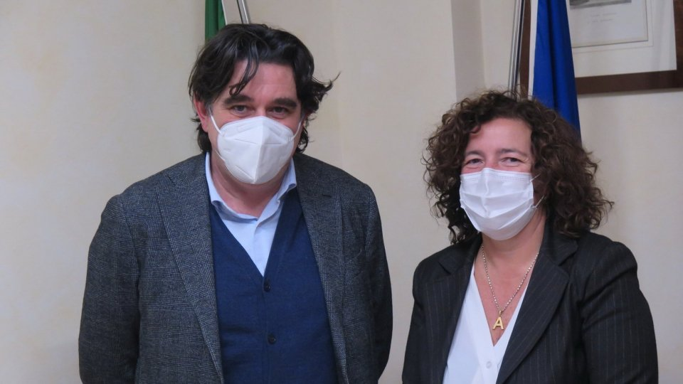 Nella foto Giacomo Pelliccioni e Alessia Valducci