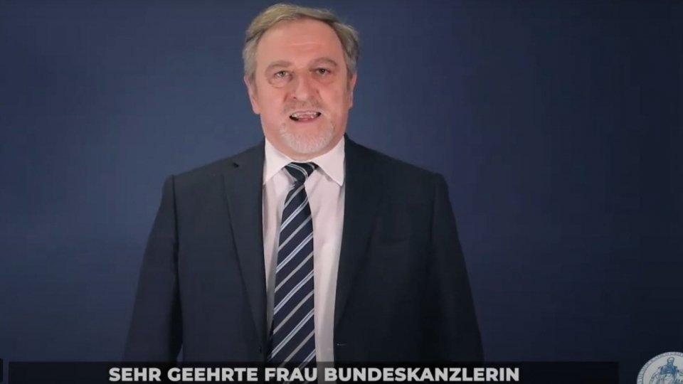 Giancarlo Venturini (Pdcs) interviene al Congresso della CDU