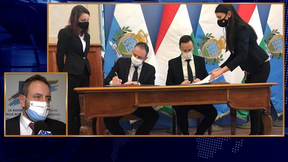 Nel video l'intervista telefonica al Segretario gli Esteri Beccari
