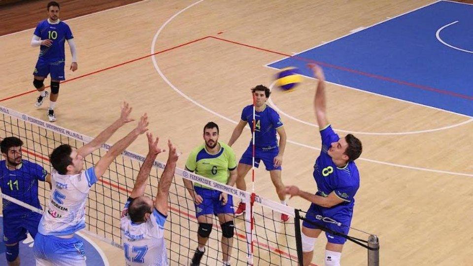 Volley:  Geetit Bologna – Titan Services 3 - 0