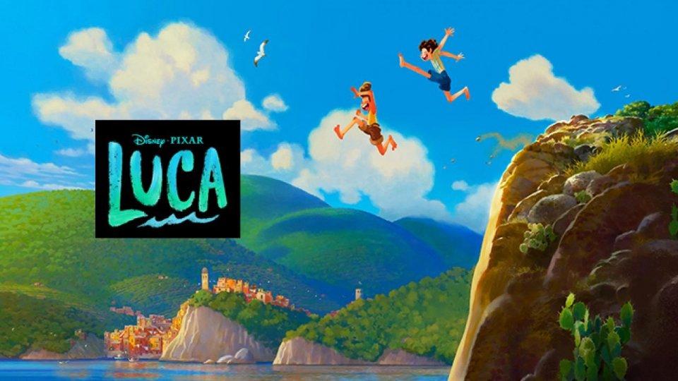 """Il nuovo cartone della Pixar """"Luca"""" parla italiano"""