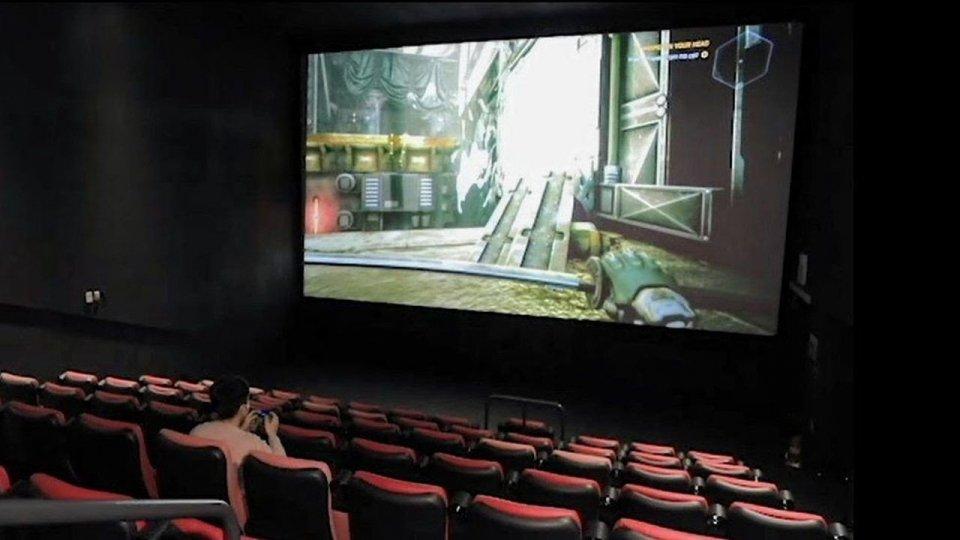 I cinema tutti per i gamers