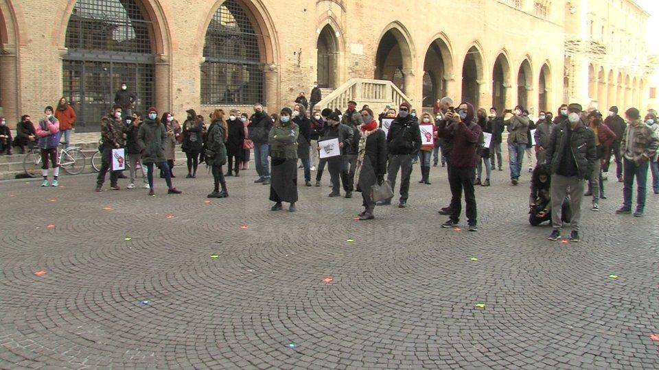 La protesta a RiminiDalla nostra corrispondente Francesca Biliotti