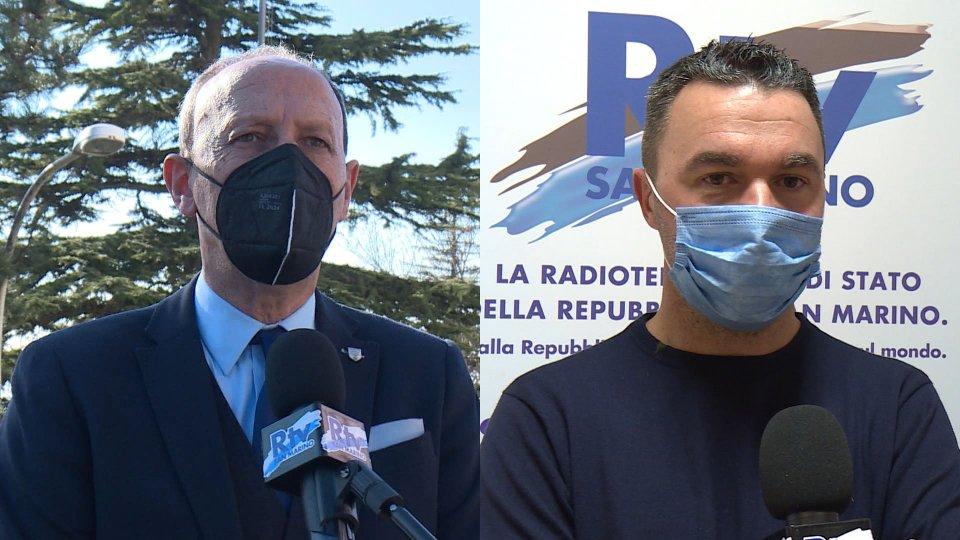 Gian Primo Giardi e Damiano Battistini