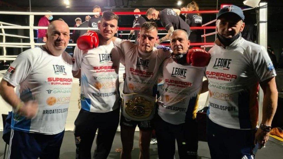 Roberto Gheorghita si è laureato Campione del mondo ISKA K1, categoria 65 kg