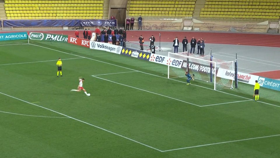 Il Monaco supera il Metz ed è ai quarti di finale