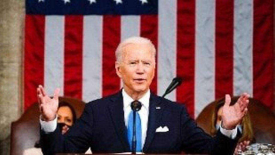 Biden al Congresso: riforma giustizia e stretta sulle armi