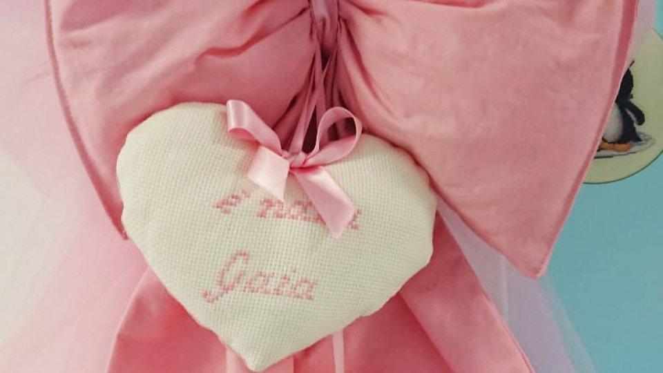 Benvenuta Gaia: fiocco rosa a Rtv