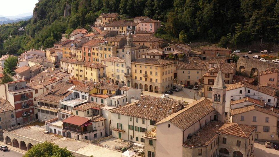 Il centro storico di Borgo Maggiore