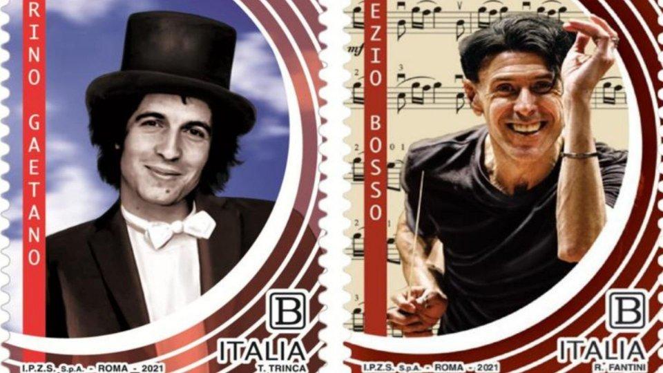 In arrivo due nuovi francobolli per Rino Gaetano e Ezio Bosso