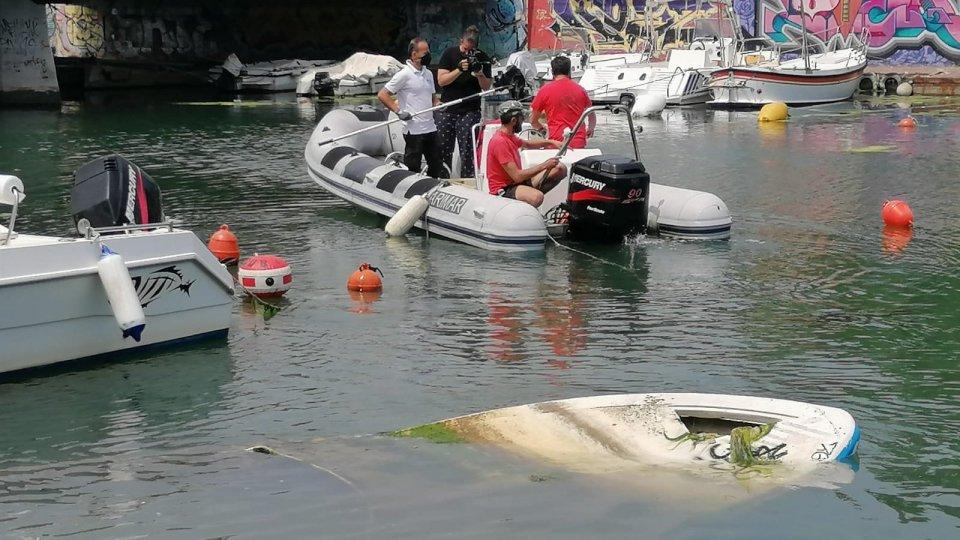 Giornata Mondiale degli Oceani: attività di recupero nel Porto di Rimini