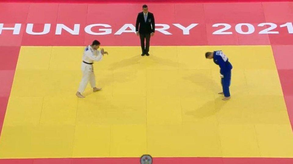 Judo: Persoglia cede all'olandese Smink al Mondiale in Ungheria