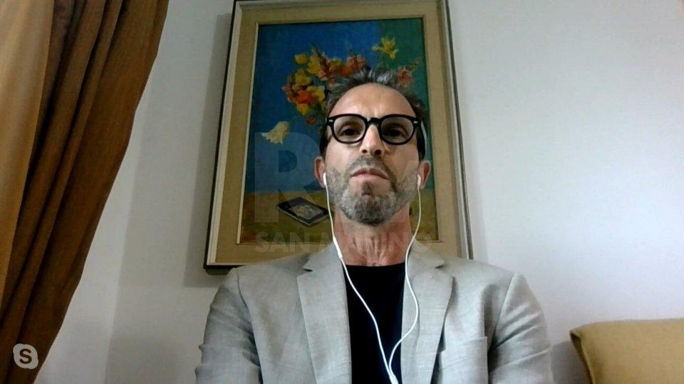 1Umberto Calcagno via Skype