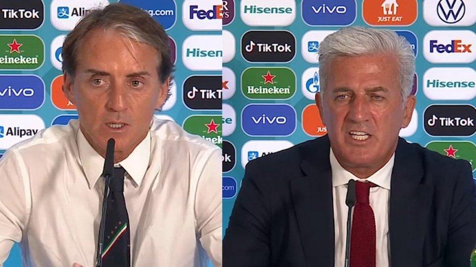 """Mancini: """"Ragazzi straordinari, ma non siamo i favoriti"""""""