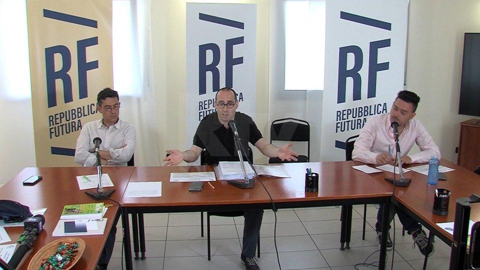 Conferenza stampa Repubblica Futura