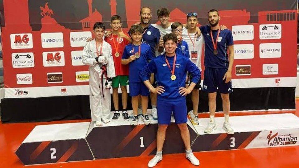 In Albania al 6° Tirana Trophy 2021. 1 oro- 1 argento - 3 bronzi - 1 coppa di squadra