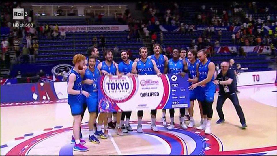 Miracolo azzurro a Belgrado, l'Italia torna alle olimpiadi dopo diciassette anni