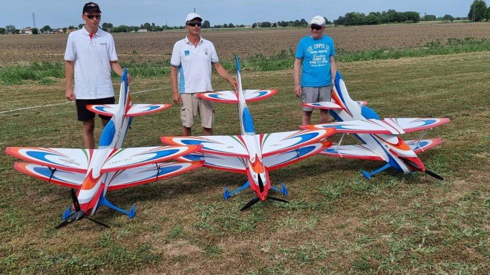 L'Aerobatic Team di San Marino protagonista in campo internazionale nel week end a Monselice