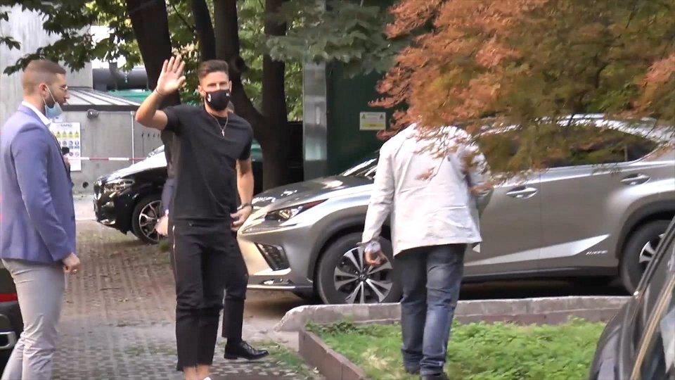 Milan: è il giorno di Giroud