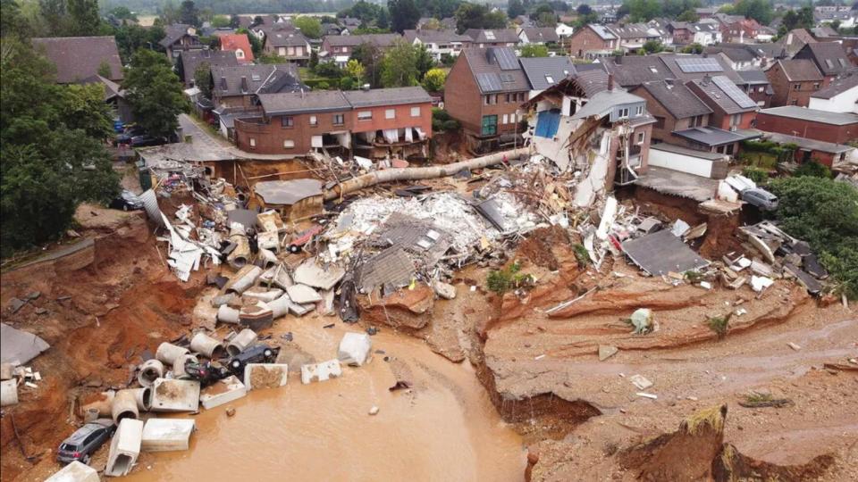 Alluvione in Germania (Rainews)