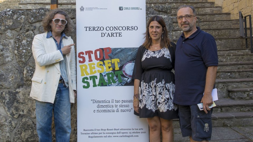 """Carlo Biagioli srl: il terzo concorso d'arte sarà intitolato """"Stop-Reset-Start"""""""